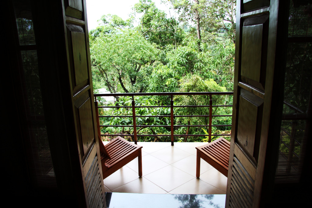 Open your door to nature and enjoy the serenity