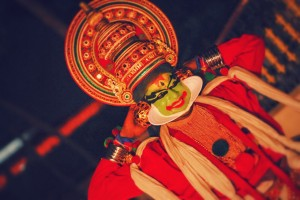 The preparations for a Kathakali performance take many hours